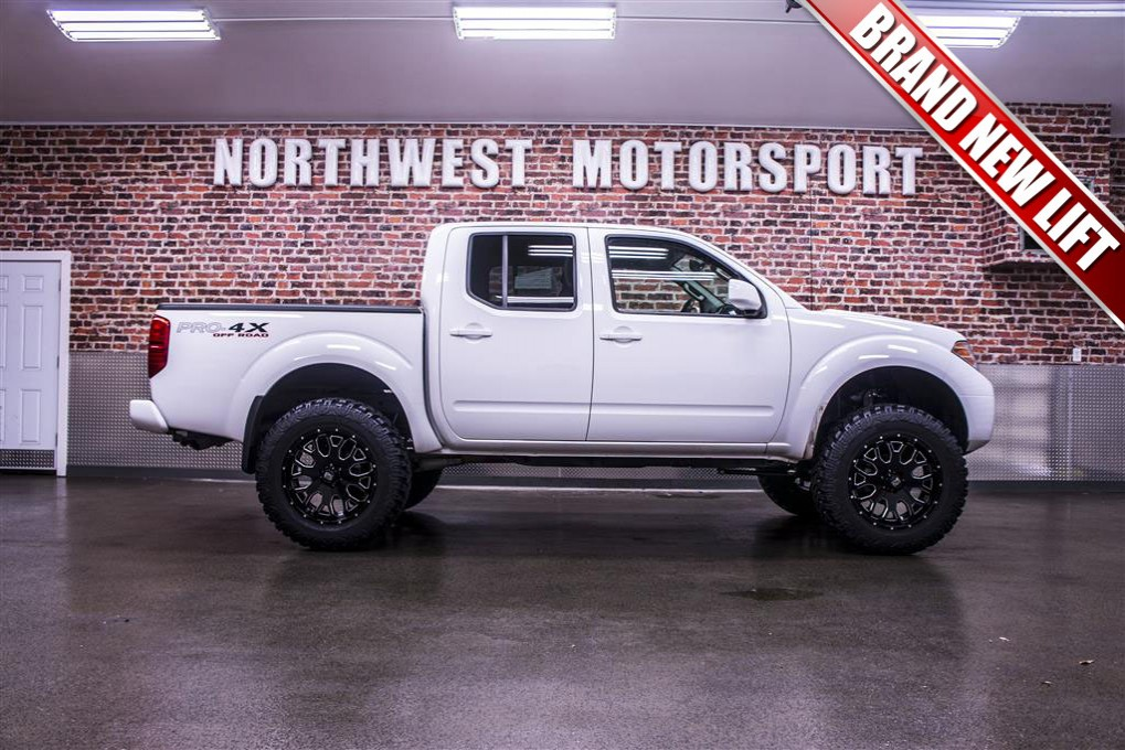 used 2012 nissan frontier pro 4x 4x4 truck for sale northwest motorsport. Black Bedroom Furniture Sets. Home Design Ideas