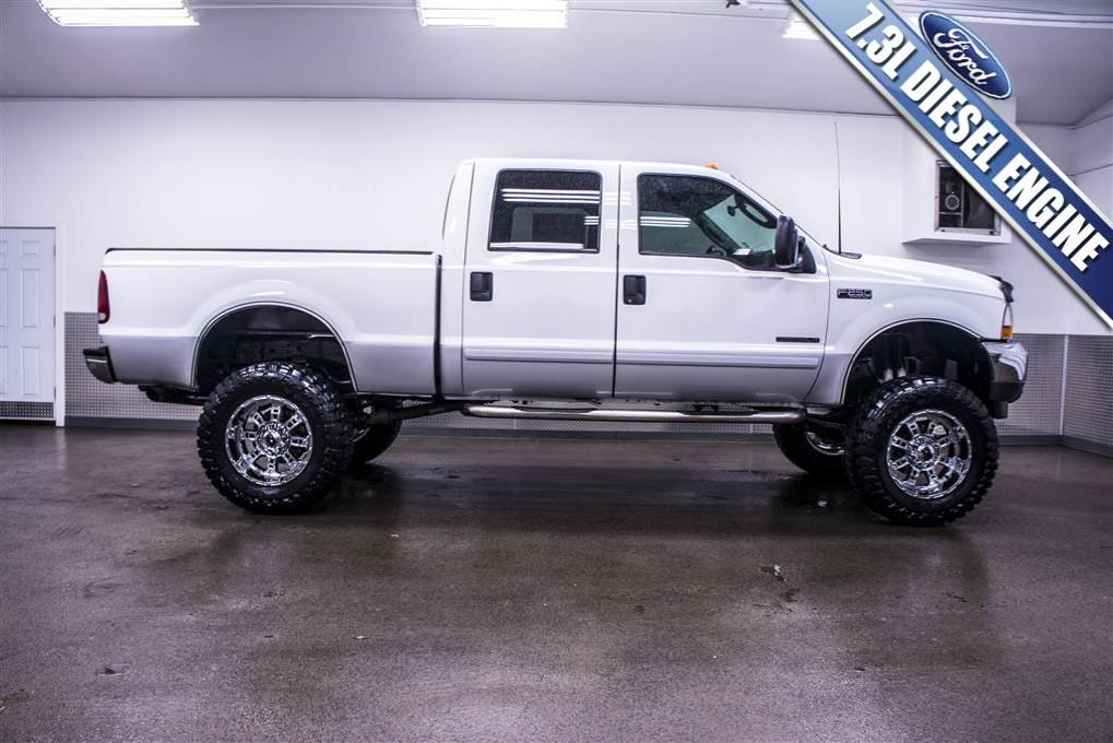used 2003 ford f 250 xlt 4x4 diesel truck for sale northwest motorsport. Black Bedroom Furniture Sets. Home Design Ideas