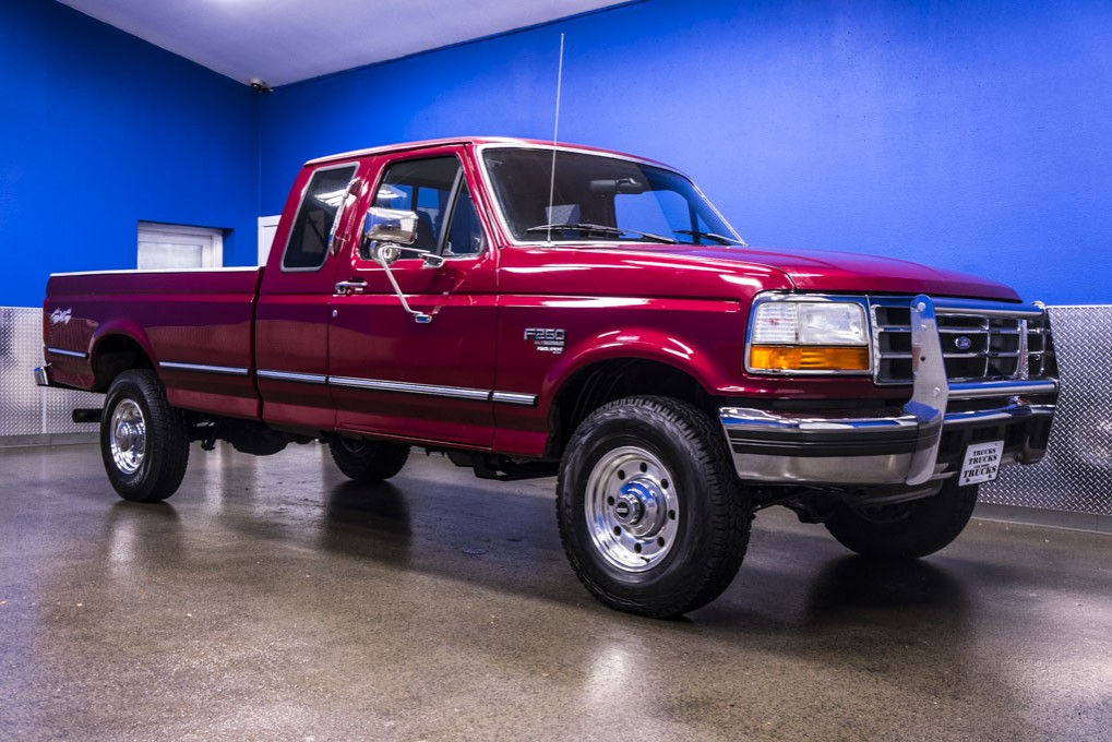used 1995 ford f 250 xlt 4x4 diesel truck for sale 19843. Black Bedroom Furniture Sets. Home Design Ideas