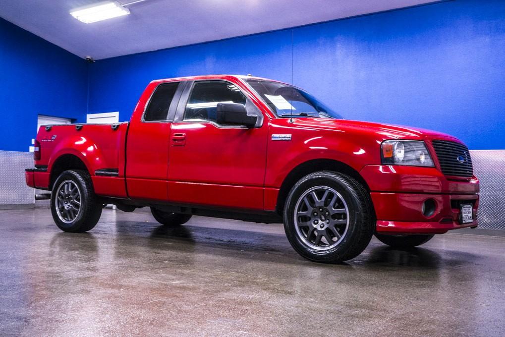 used 2008 ford f 150 fx2 sport flareside rwd truck for sale 20804. Black Bedroom Furniture Sets. Home Design Ideas