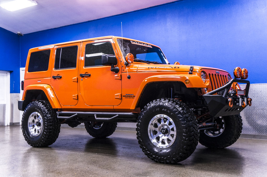 Used 2015 Jeep Wrangler Unlimited MOAB 4x4 SUV For Sale - 22942