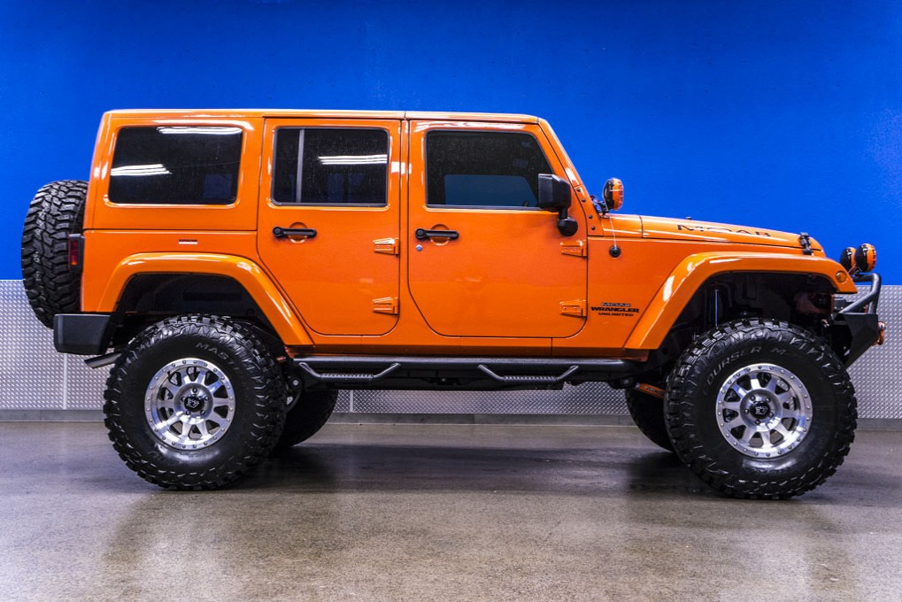 Lifted Jeep Wrangler For Sale >> Used 2015 Jeep Wrangler Unlimited MOAB 4x4 SUV For Sale - Northwest Motorsport