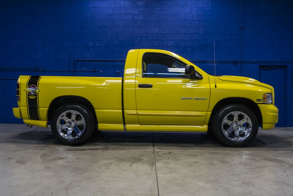 Used 2005 dodge ram 1500 rumble bee 4x4 truck for sale - 2005 dodge ram 1500 interior parts ...