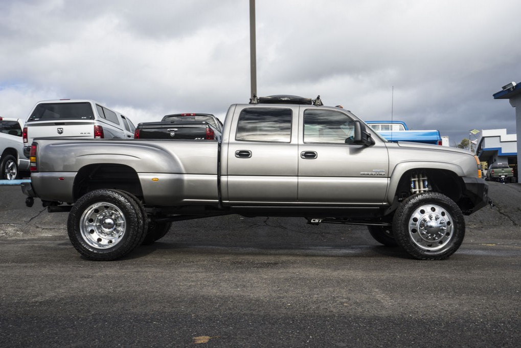 used 2007 chevrolet silverado 3500 lt dually 4x4 diesel truck for sale northwest motorsport. Black Bedroom Furniture Sets. Home Design Ideas