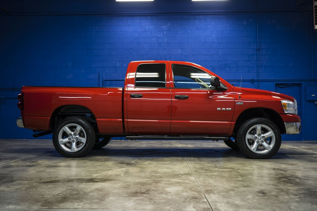 used 2008 dodge ram 1500 big horn 4x4 truck for sale northwest motorsport. Black Bedroom Furniture Sets. Home Design Ideas