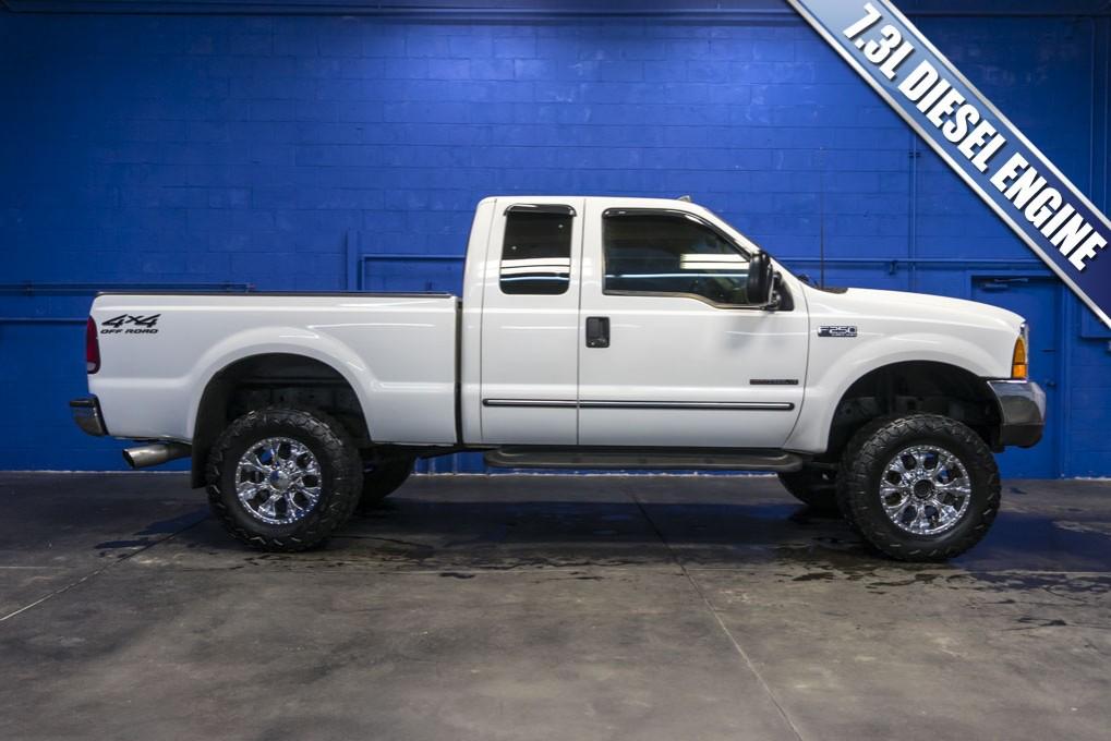 used 2000 ford f 250 xlt 4x4 sd diesel truck for sale northwest motorsport. Black Bedroom Furniture Sets. Home Design Ideas