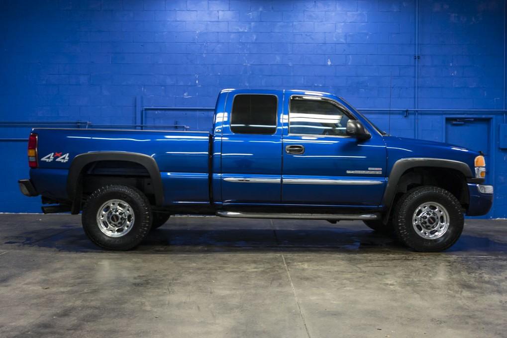 used 2003 gmc sierra 2500hd sle 4x4 diesel truck for sale northwest motorsport. Black Bedroom Furniture Sets. Home Design Ideas