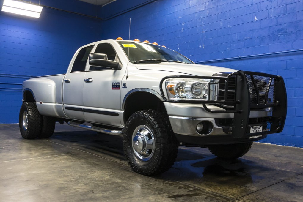 used 2007 dodge ram 3500 dually 4x4 diesel truck for sale 27749. Black Bedroom Furniture Sets. Home Design Ideas