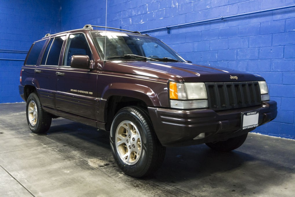 used 1996 jeep grand cherokee limited 4x4 suv for sale 27850b. Black Bedroom Furniture Sets. Home Design Ideas