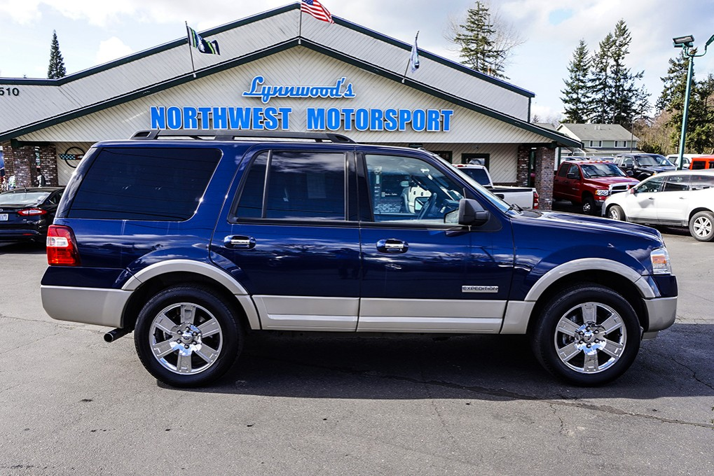 used 2007 ford expedition eddie bauer 4x4 suv for sale northwest motorsport. Black Bedroom Furniture Sets. Home Design Ideas