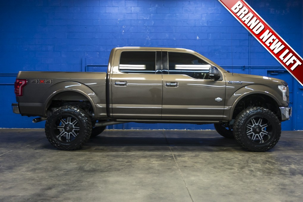 used 2015 ford f-150 king ranch 4x4 truck for sale