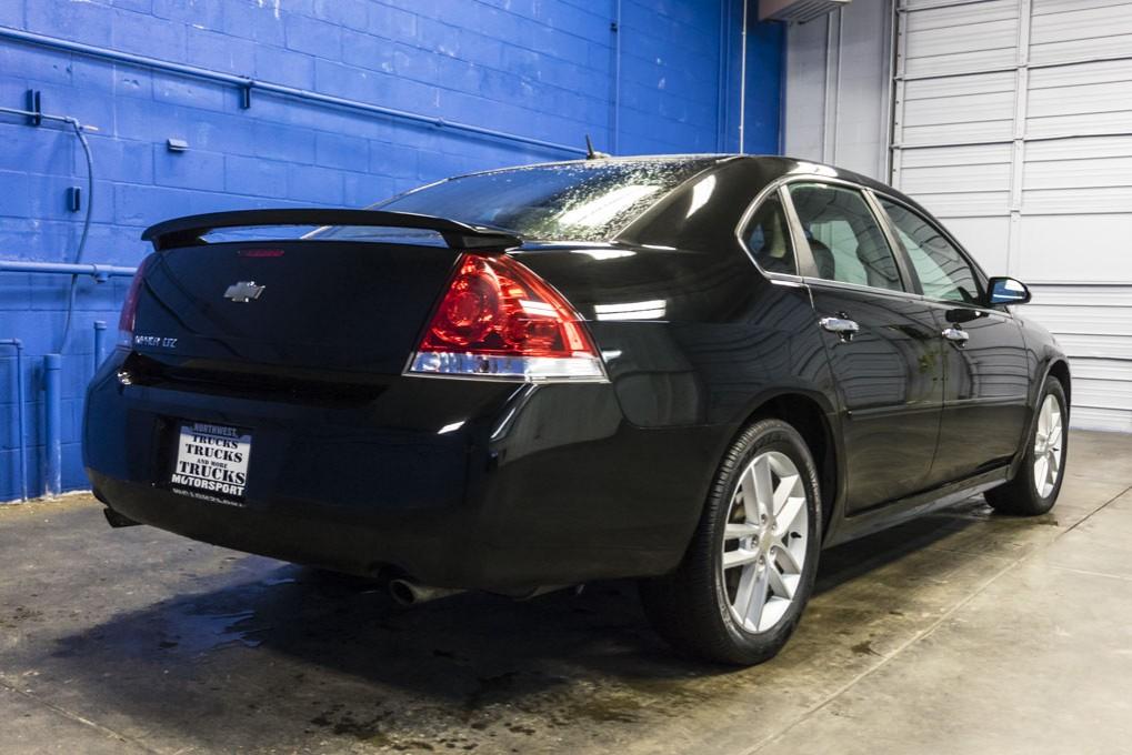 used 2012 chevrolet impala ltz fwd sedan for sale 28238. Black Bedroom Furniture Sets. Home Design Ideas