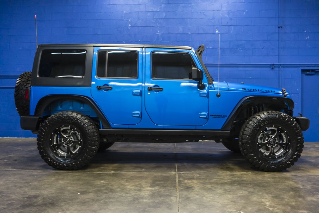 Used 2015 Jeep Wrangler Unlimited Rubicon 4x4 Suv For Sale