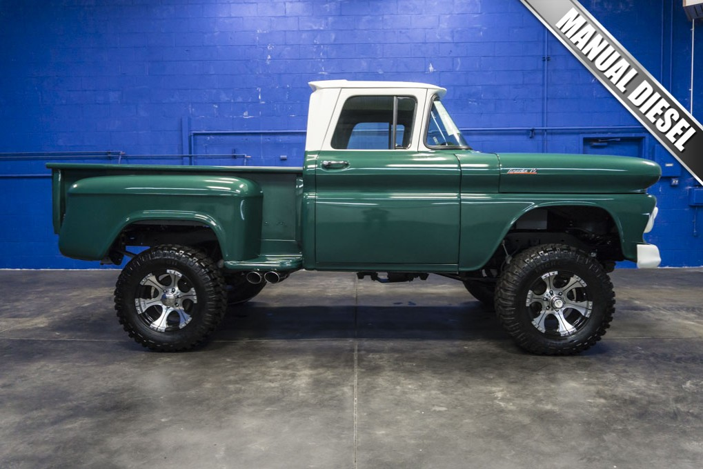 Used 1961 Chevrolet Apache 10 RWD Diesel Truck For Sale - 28443M