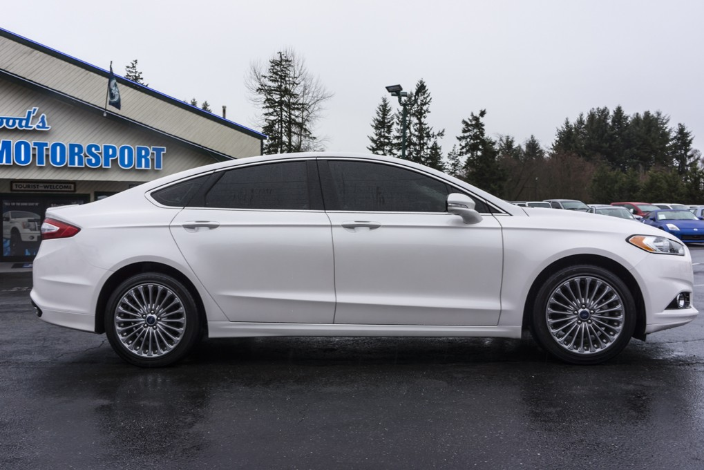 Luxury Awd Sedans >> Used 2013 Ford Fusion Titanium Ecoboost AWD Sedan For Sale - Northwest Motorsport