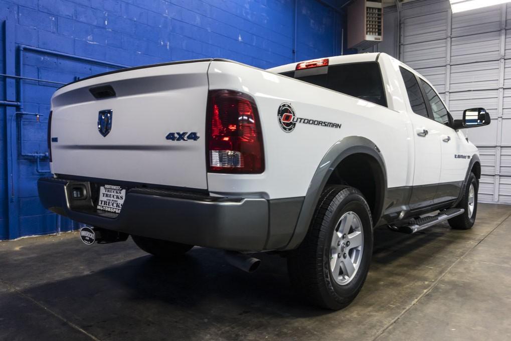 used 2011 dodge ram 1500 outdoorsman 4x4 truck for sale 28734. Black Bedroom Furniture Sets. Home Design Ideas