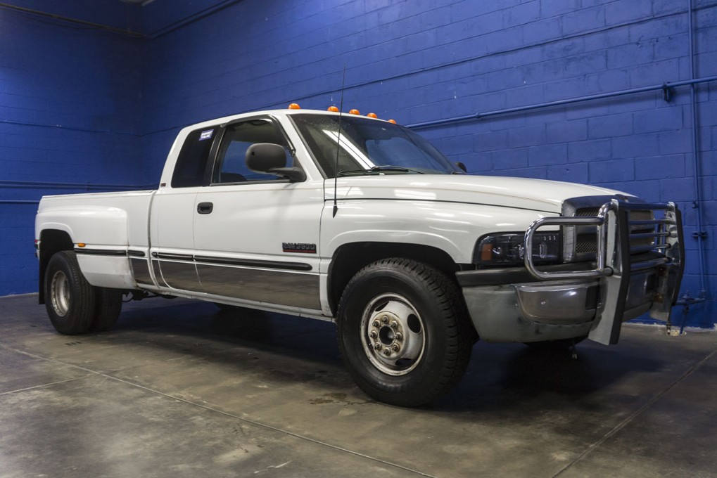 Used 1998 Dodge Ram 3500 Dually Rwd Diesel Truck For Sale