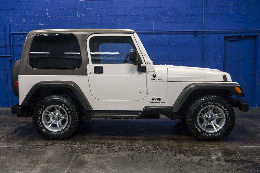 Used 2004 Jeep Wrangler Sport 4x4 Suv For Sale 29603