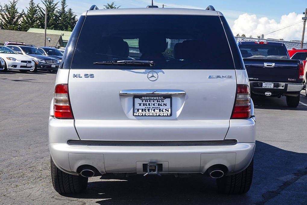 Used 2001 mercedes benz ml55 amg amg awd suv for sale 30035a for Mercedes benz suv 2001