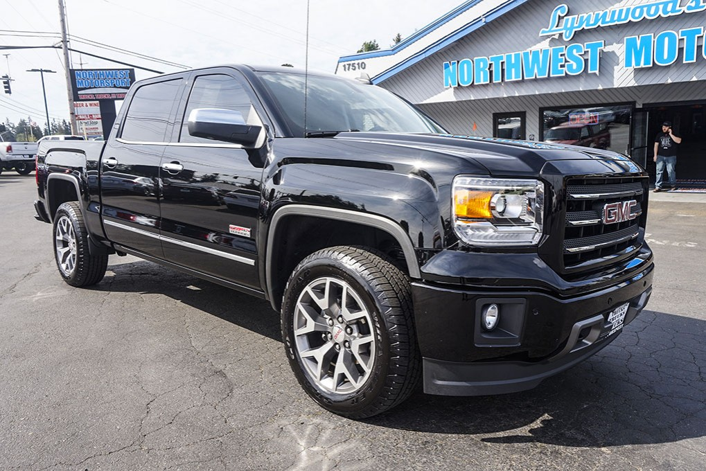 used 2015 gmc sierra 1500 all terrain 4x4 truck for sale 30402. Black Bedroom Furniture Sets. Home Design Ideas