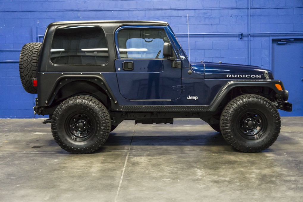 used 2004 jeep wrangler rubicon 4x4 suv for sale. Black Bedroom Furniture Sets. Home Design Ideas