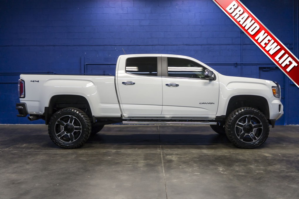 used 2015 gmc canyon slt 4x4 truck for sale northwest motorsport. Black Bedroom Furniture Sets. Home Design Ideas