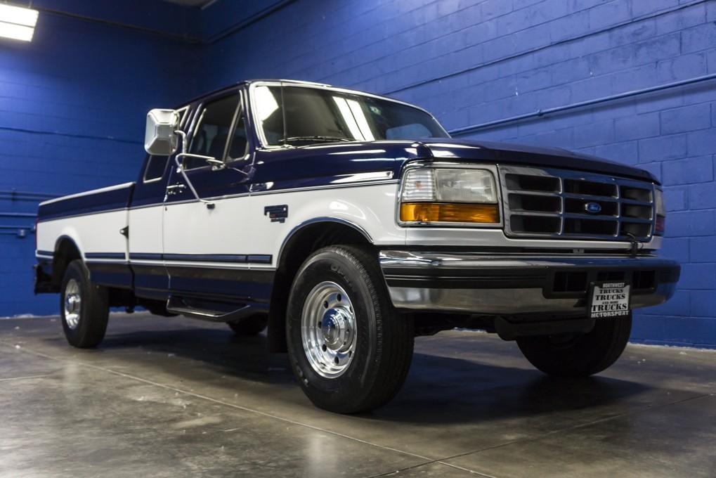 used 1995 ford f 250 xlt rwd diesel truck for sale 30677. Black Bedroom Furniture Sets. Home Design Ideas