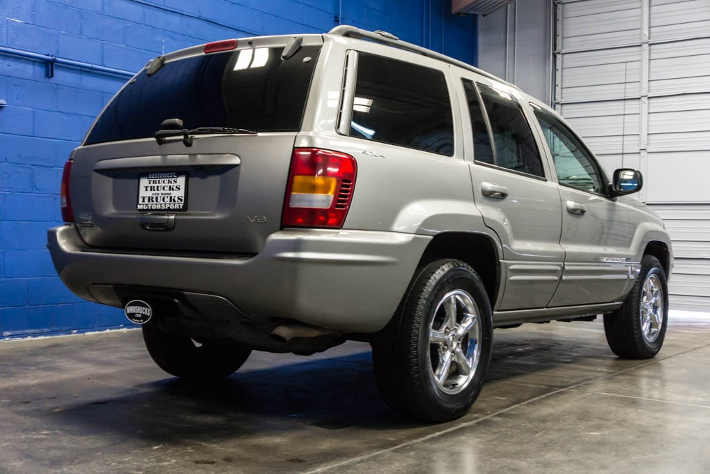 used 2000 jeep grand cherokee limited 4x4 suv for sale 30825b. Black Bedroom Furniture Sets. Home Design Ideas