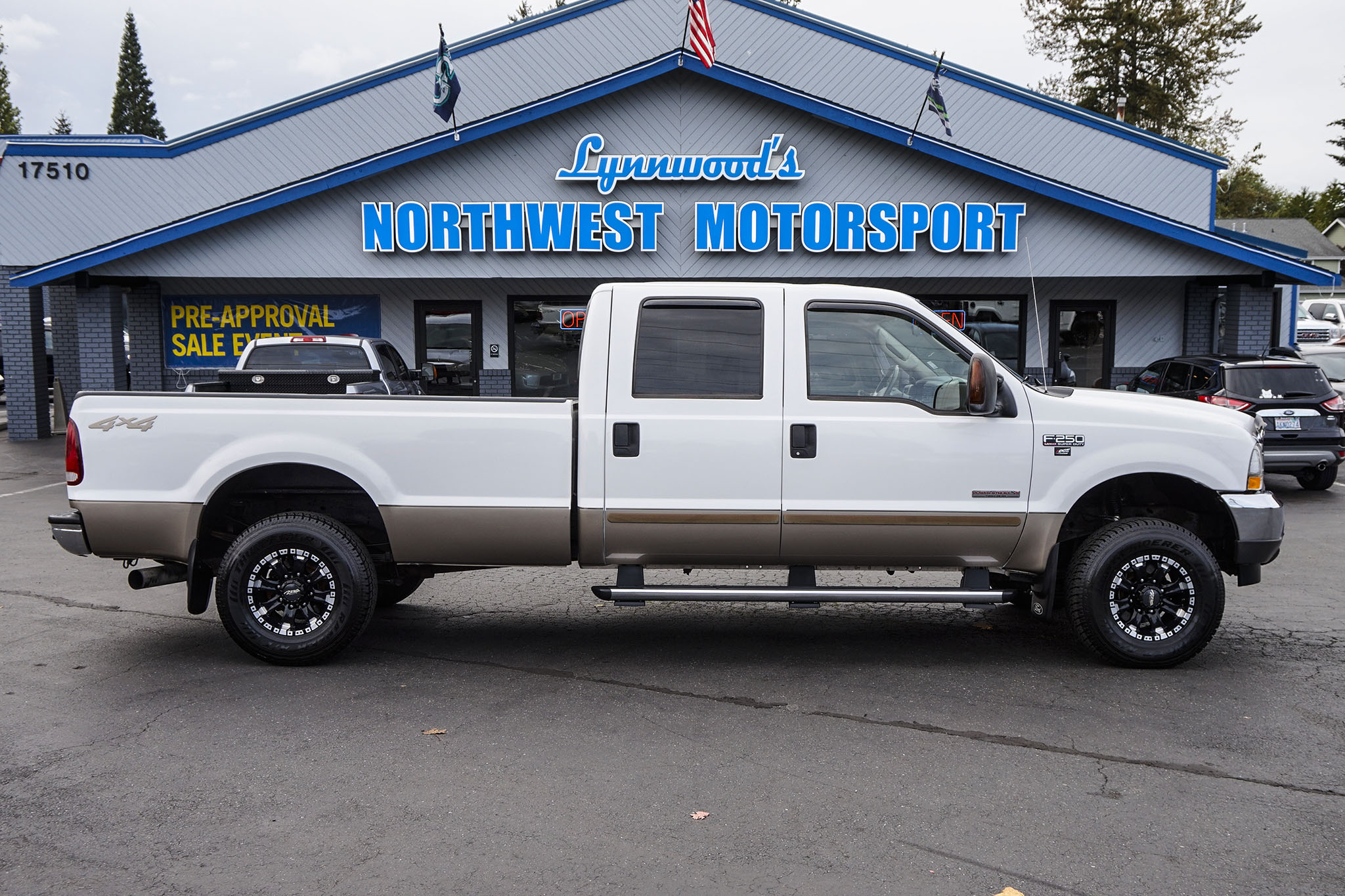 Diesel Trucks Lifted Used For Sale Northwest 2004 Ford F 250 Lariat 4x4