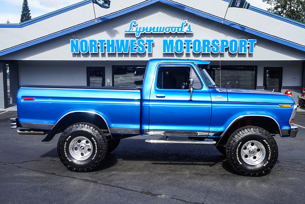used 1979 ford f-150 custom 4x4 truck for sale - 31597