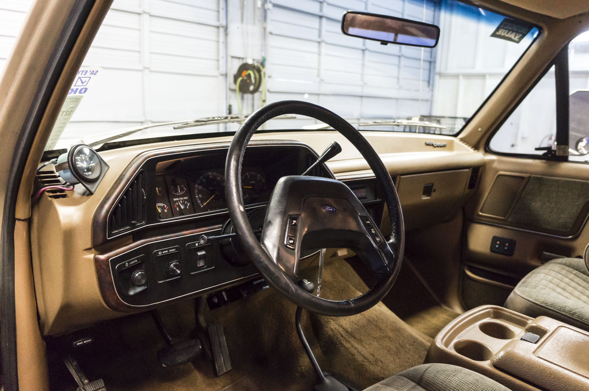 Used 1990 Ford F-250 4x4 Diesel Truck For Sale - 32177B