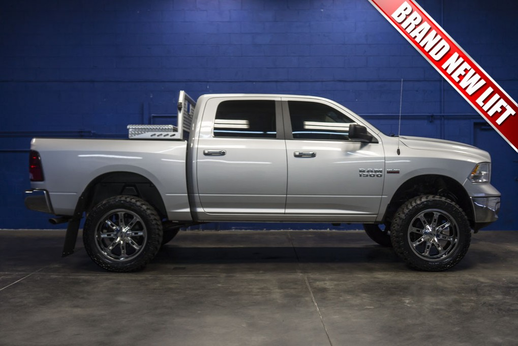 Used Lifted 2016 Dodge Ram 1500 SLT 4x4 Truck For Sale ...
