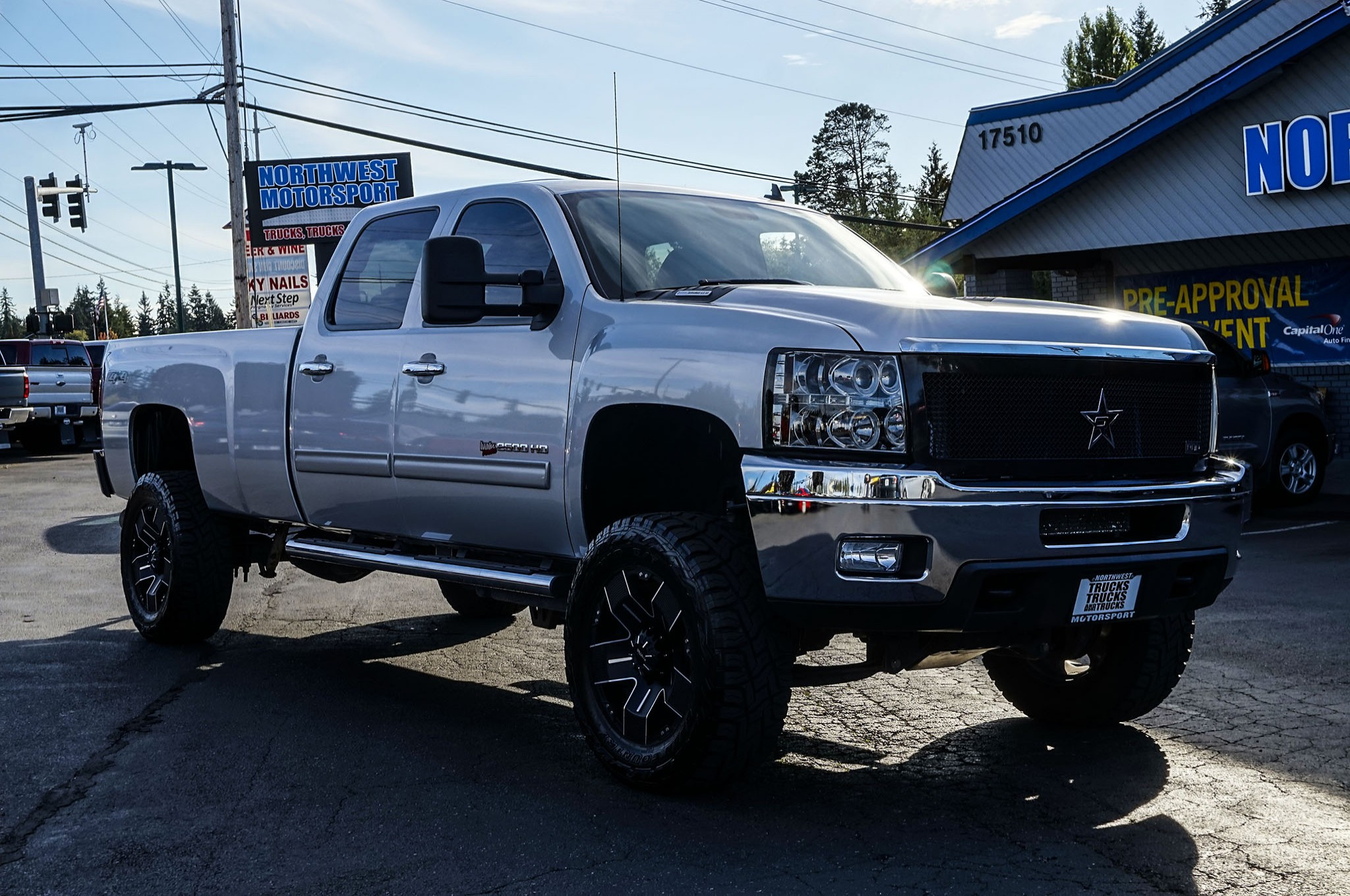 Used Lifted 2013 Chevrolet Silverado 2500HD LTZ 4x4 Diesel