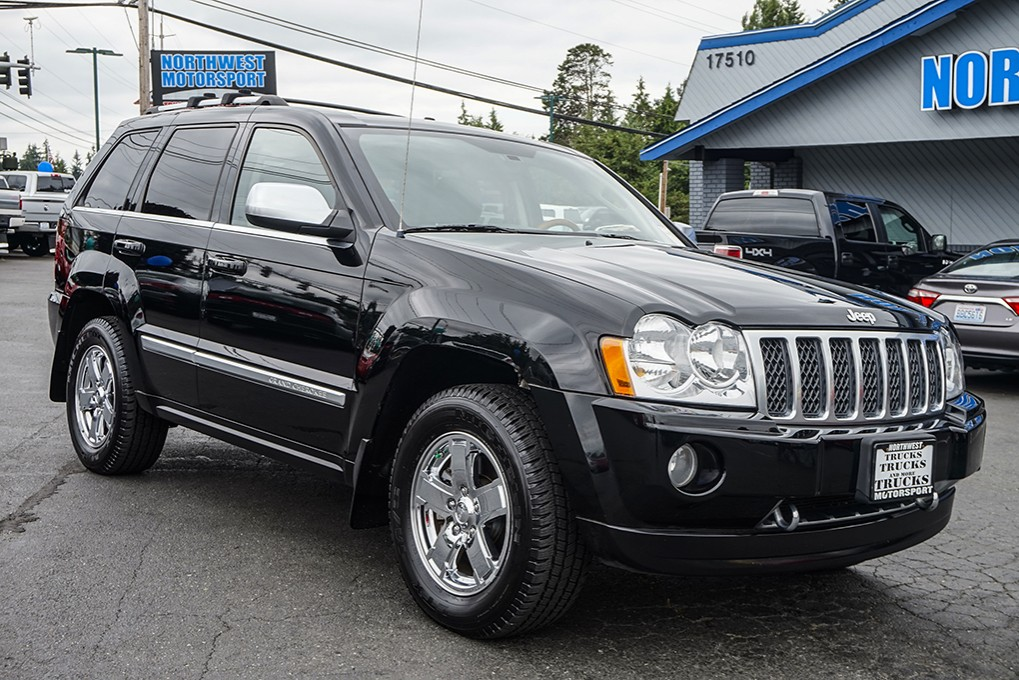 used 2006 jeep grand cherokee overland 4x4 suv for sale 32429a. Black Bedroom Furniture Sets. Home Design Ideas