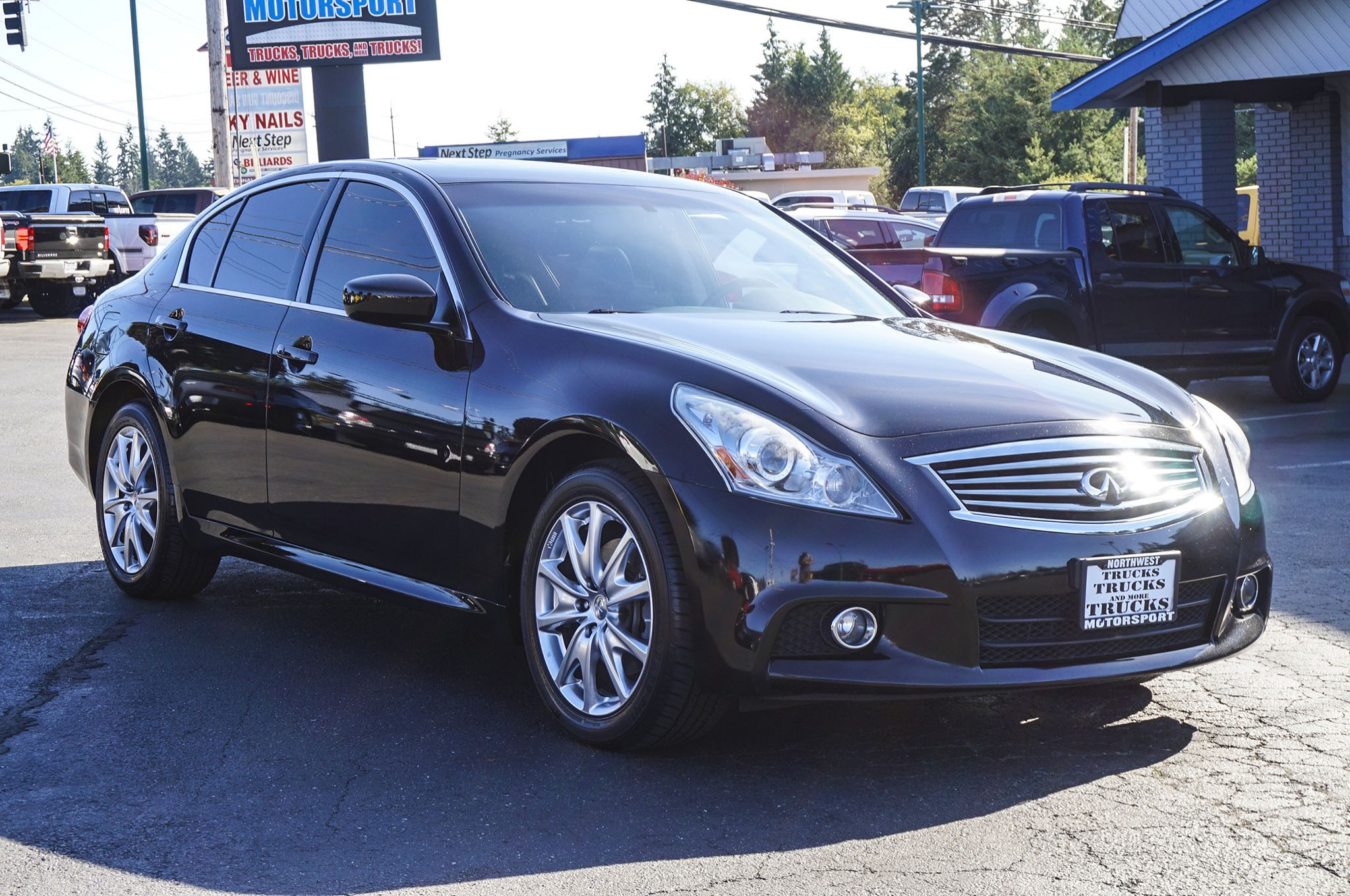 ml sale infinity used mk x cars awd automatic black sedan for color in on infiniti vehicles iowa buysellsearch