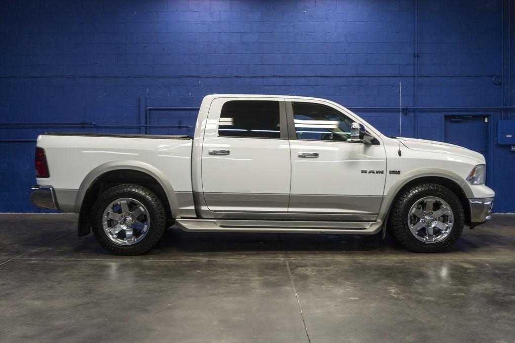 used 2010 dodge ram 1500 laramie 4x4 truck for sale northwest motorsport. Black Bedroom Furniture Sets. Home Design Ideas