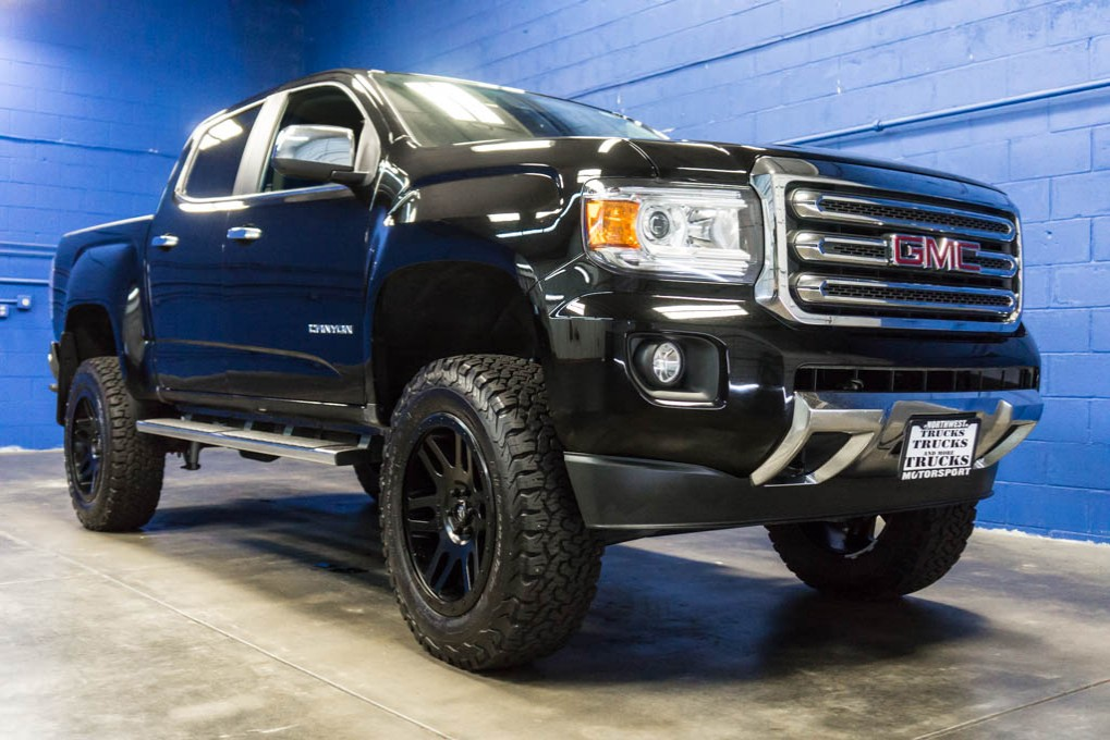 lifted 2015 gmc canyon slt 4x4 northwest motorsport. Black Bedroom Furniture Sets. Home Design Ideas
