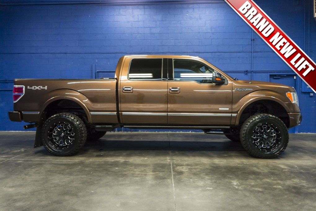 Ford F150 Platinum Lifted >> Used Lifted 2011 Ford F-150 Platinum 4x4 Truck For Sale ...