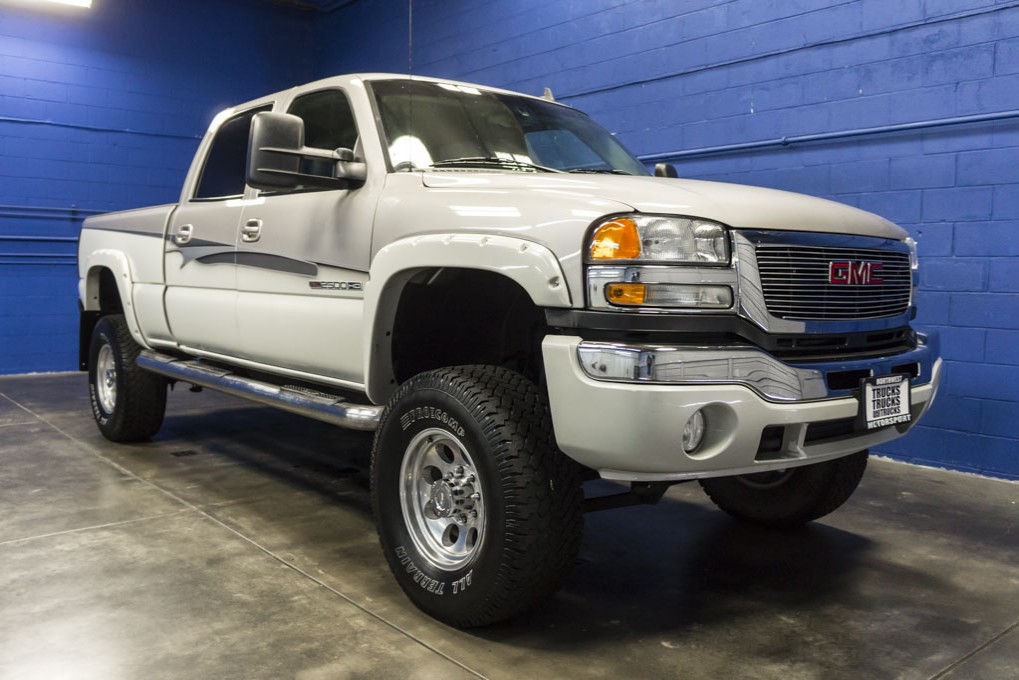 used lifted 2006 gmc sierra 2500hd 4x4 truck for sale 32889. Black Bedroom Furniture Sets. Home Design Ideas
