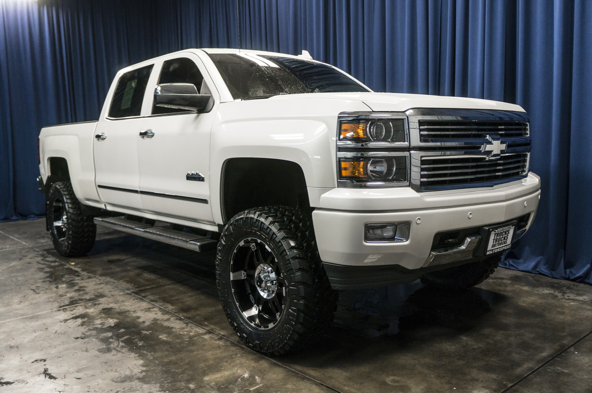 Used Lifted 2015 Chevrolet Silverado 1500 High Country 4x4 Truck For