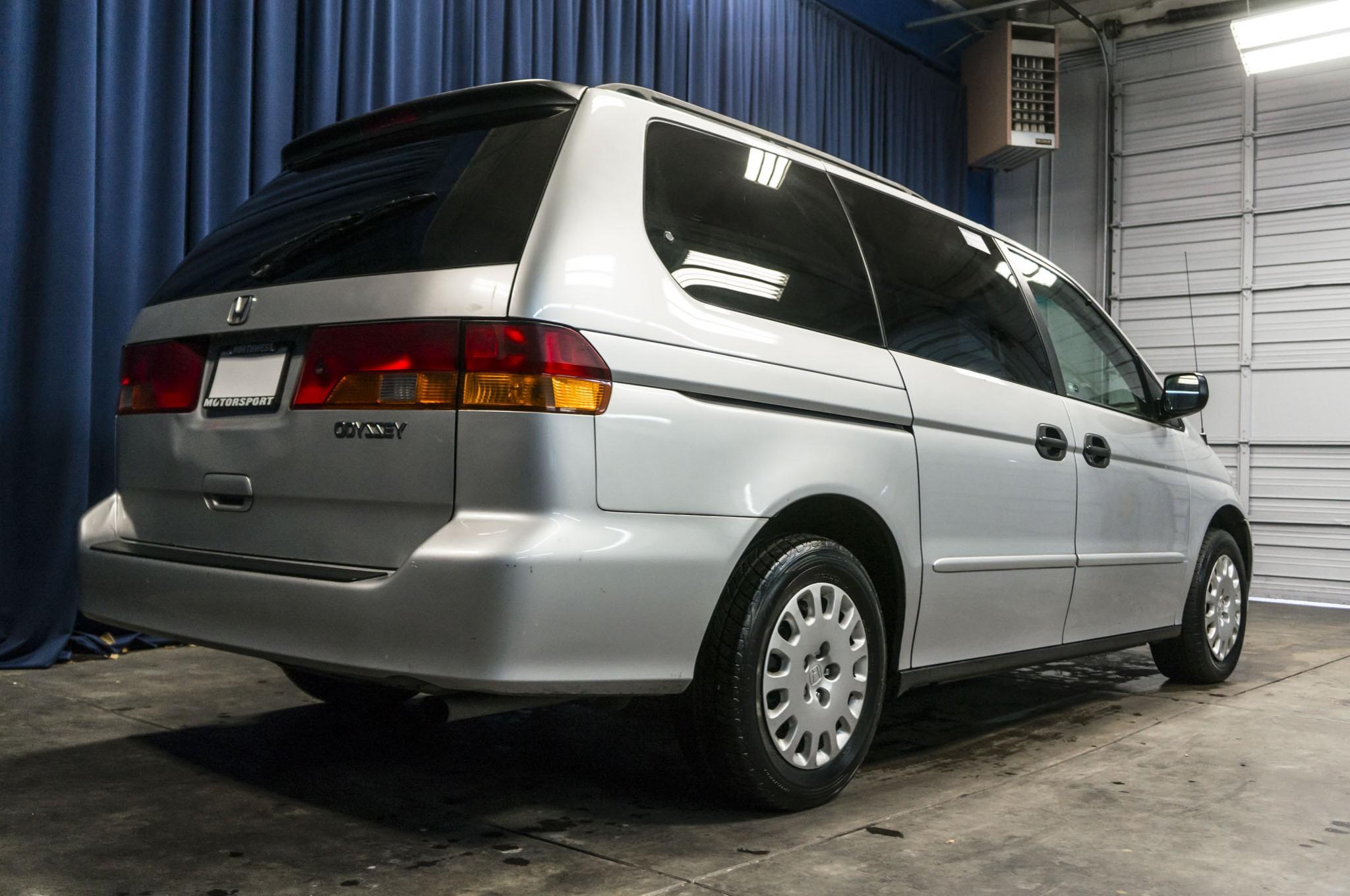 Used 2002 honda odyssey lx fwd minivan van for sale 33085c for Honda odyssey minivan