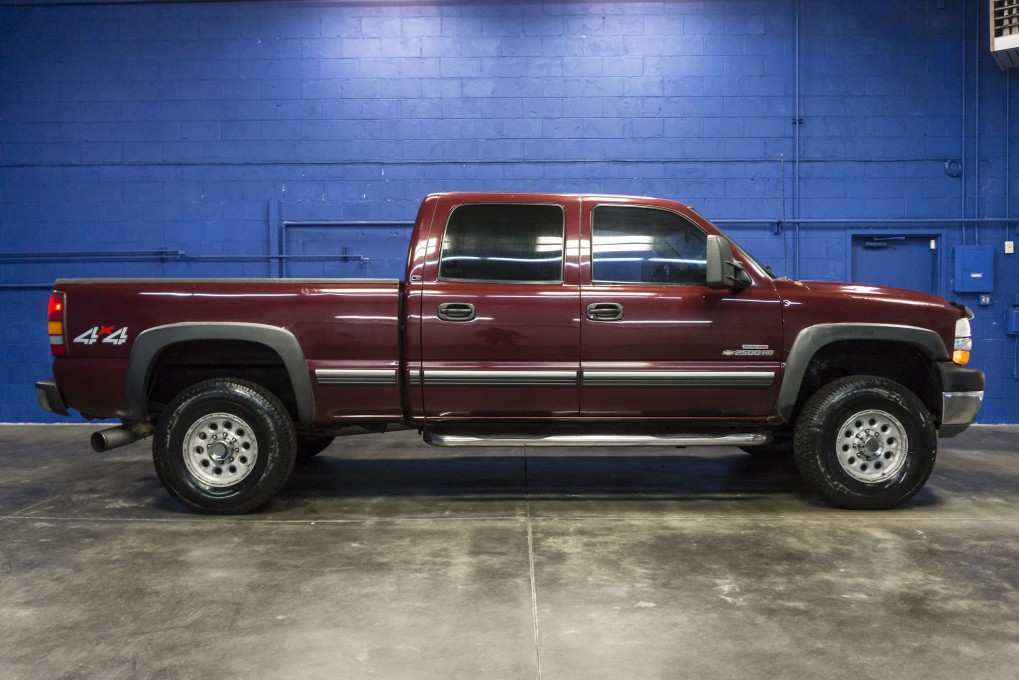 Used 2002 Chevrolet Silverado 2500HD 4x4 Diesel Truck For Sale   Northwest  Motorsport