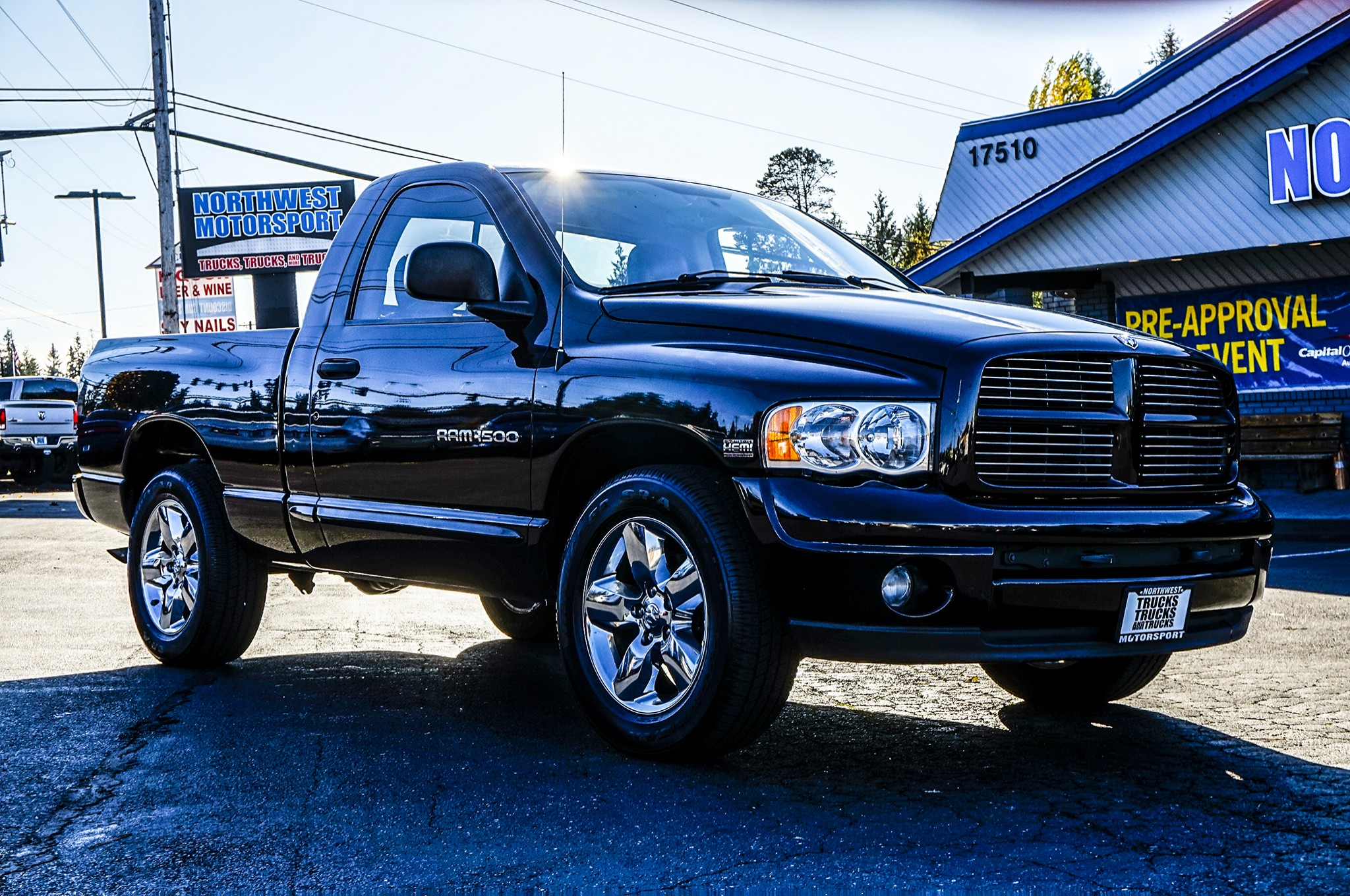 used 2004 dodge ram 1500 laramie rwd truck for sale 33407a. Black Bedroom Furniture Sets. Home Design Ideas