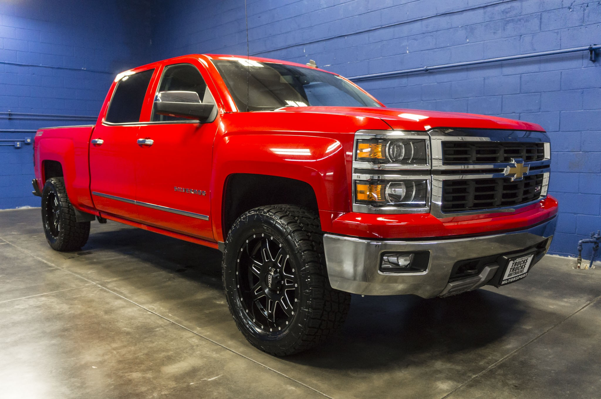 used lifted 2014 chevrolet silverado 1500 ltz 4x4 truck for sale 33594. Black Bedroom Furniture Sets. Home Design Ideas