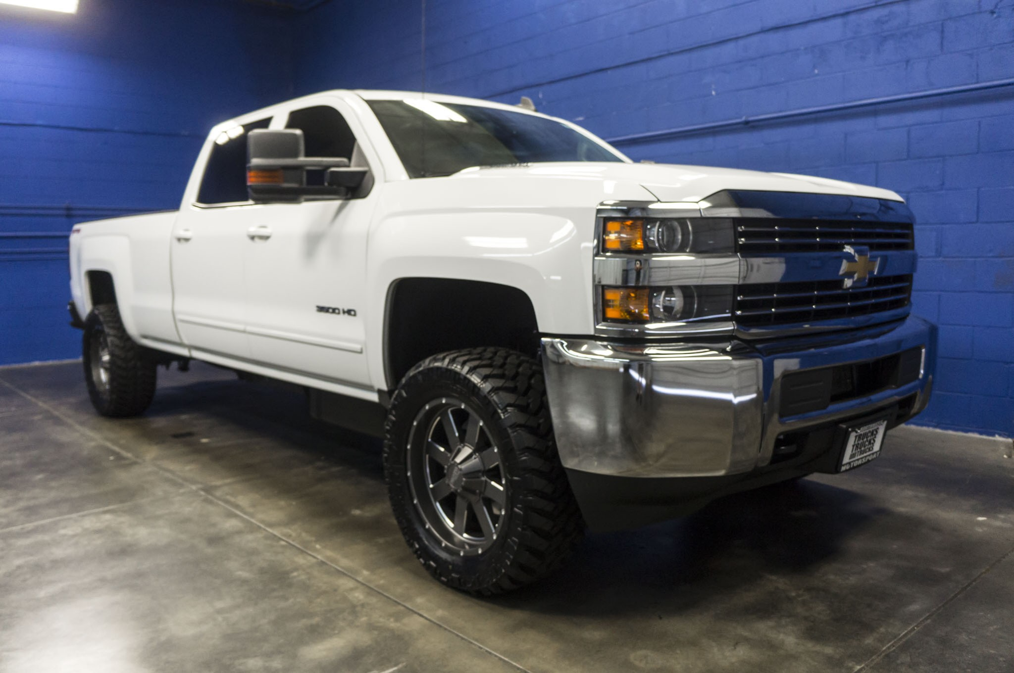 Used Lifted 2015 Chevrolet Silverado 3500 LT 4x4 Diesel Truck For