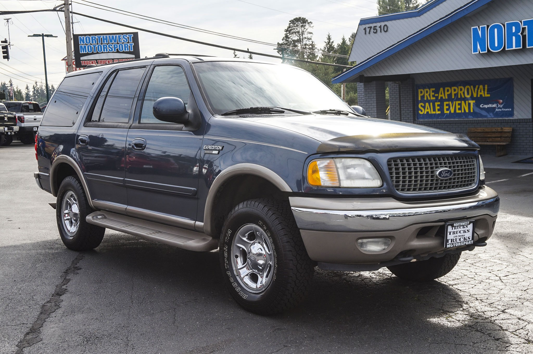 used 2001 ford expedition eddie bauer 4x4 suv for sale. Black Bedroom Furniture Sets. Home Design Ideas