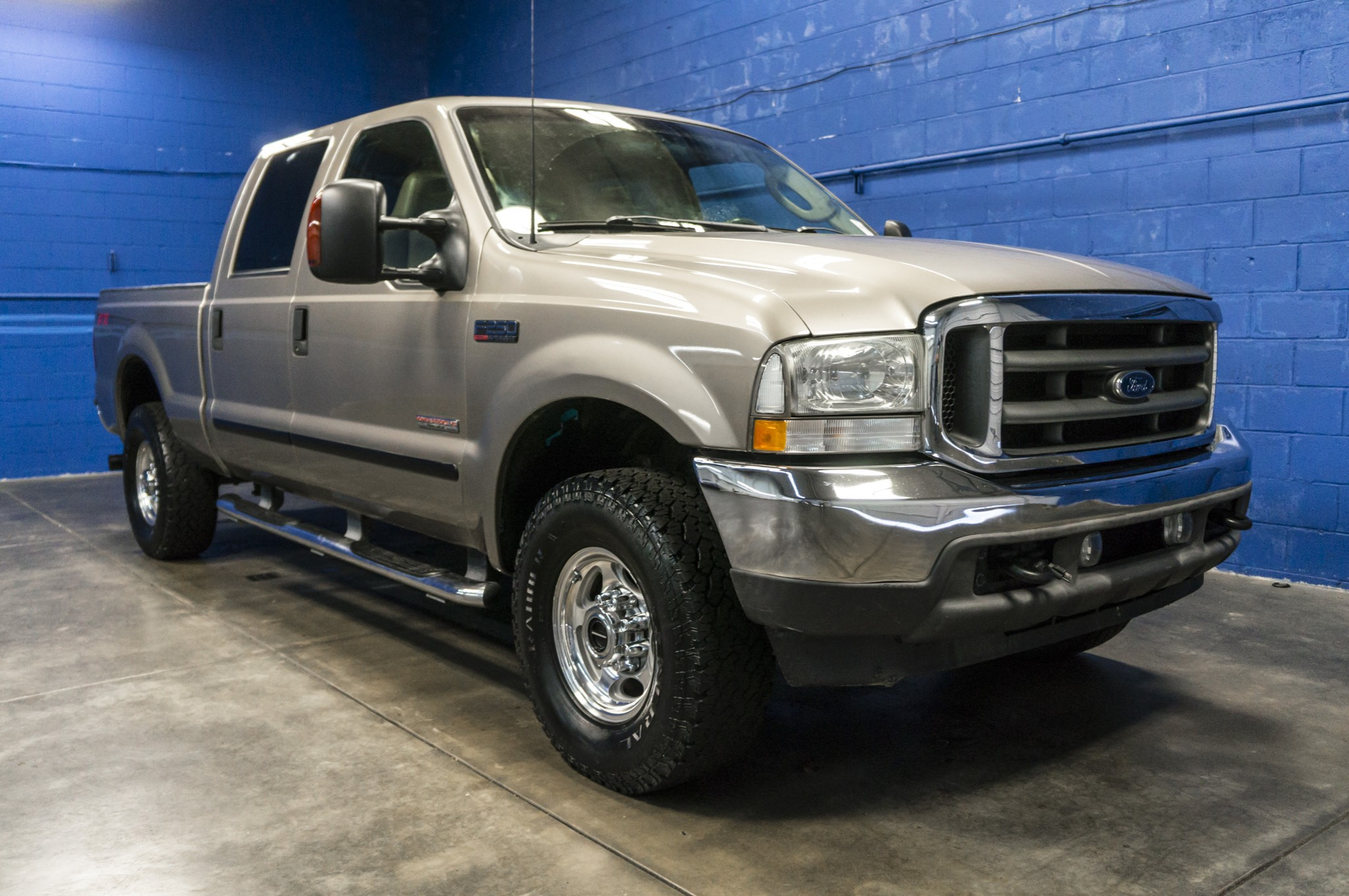 used 2003 ford f 250 lariat 4x4 diesel truck for sale 33871a. Black Bedroom Furniture Sets. Home Design Ideas