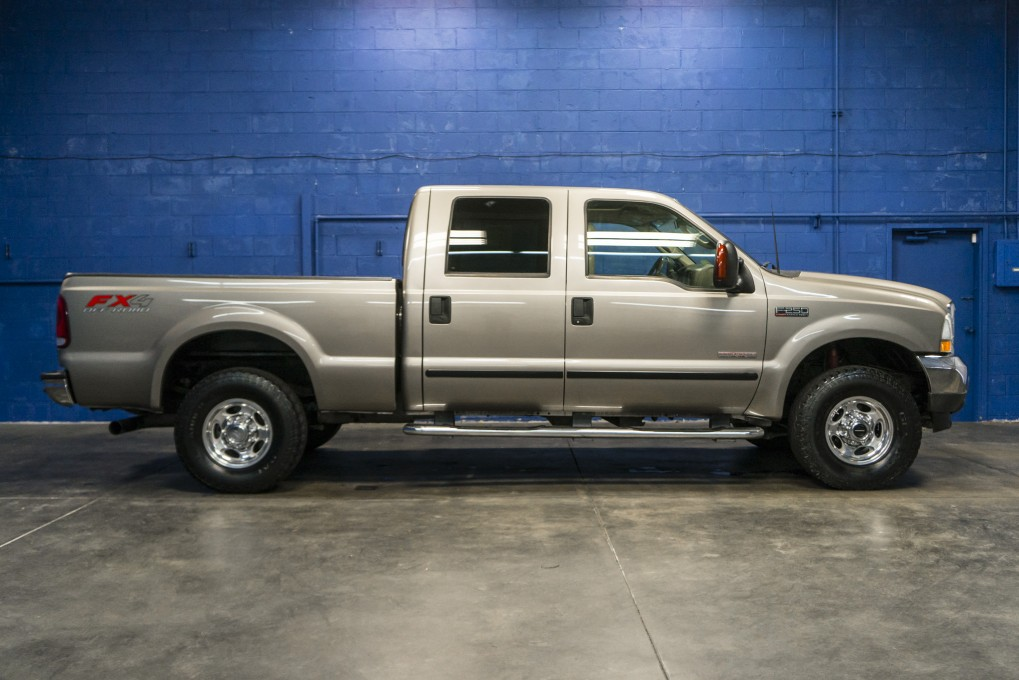 used 2003 ford f 250 lariat 4x4 diesel truck for sale. Black Bedroom Furniture Sets. Home Design Ideas