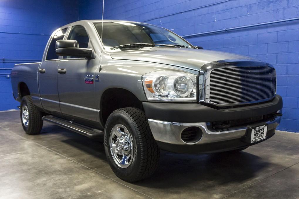 used 2008 dodge ram 2500 sxt 4x4 diesel truck for sale 33884. Black Bedroom Furniture Sets. Home Design Ideas