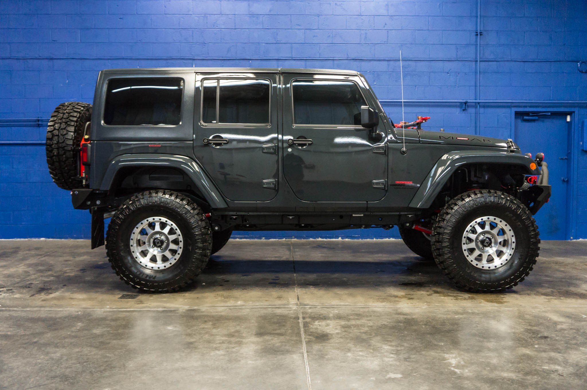 Used 2016 Jeep Wrangler Unlimited MOAB 4x4 SUV For Sale